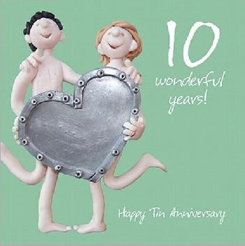 Wedding Anniversary 10 Years Uk