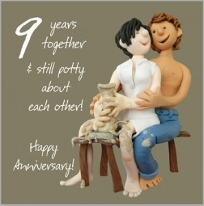 9 years together