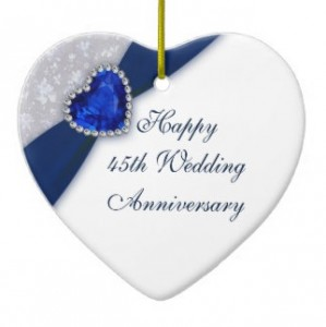 happy sapphire wedding anniversary